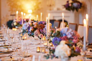 Autumn Wedding at Chateau Mcely