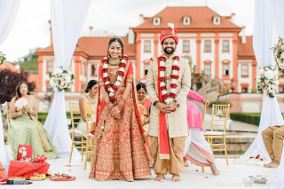 Destination Indian Hindu Wedding in Prague